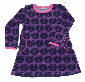 Smafolk velvet dress l/s - SALE baby  Love everything on this site - Scandanavian kids clothes.