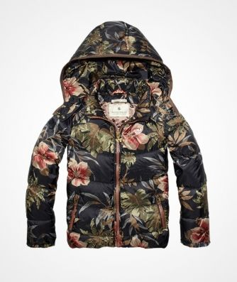 Scotch R'belle - basic down jacket
