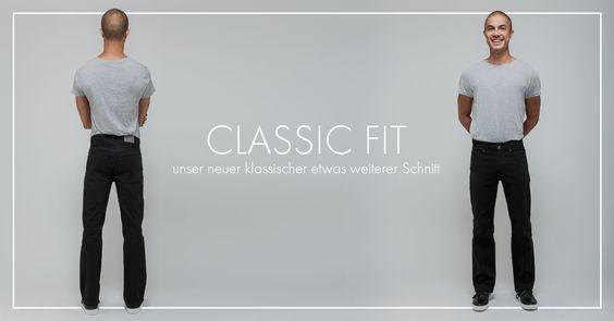 Unsere beiden Herren-Jeans bekommen Zuwachs. Ab sofort ist die Classic Fit erhältlich – eine Jeans für Männer, die Qualität ebenso schätzen wie Gemütlichkeit.