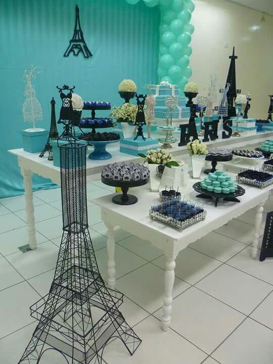 Festa Paris feita por Sua Festa Organizada ( www.facebook.com/festaorganizada )