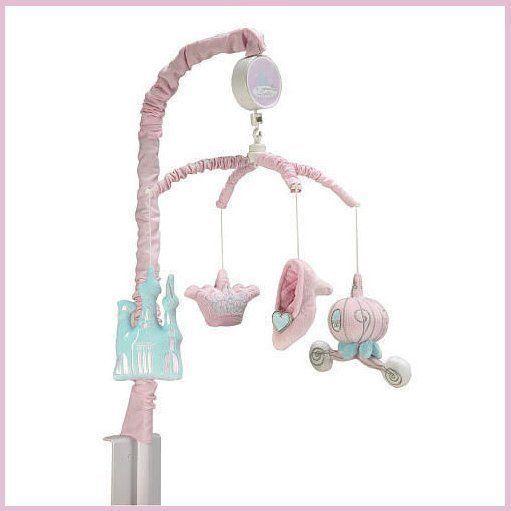 Disney disney princess and cinderella on pinterest for Princess crib mobile
