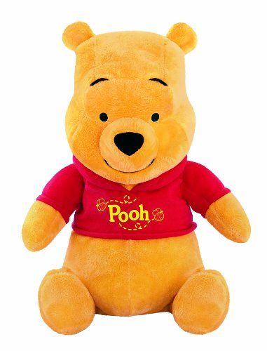 $24.99 Fisher-Price Winnie the Pooh Rumbly Tummy Pooh. Join Pooh and help him fill his tummy with honey. Rumbly Tummy Pooh is very hungry and needs your help with getting him his honey. First, squeeze Poohs belly to hear rumbly tummy SFX. When he asks for honey, place the honey jar to his mouth and hear a reward phrase and action. Poohs nose moves in a circle while he talks Be sure to feed him, because his tummy continues to rumble louder and louder until he gets his honey. Place the ho