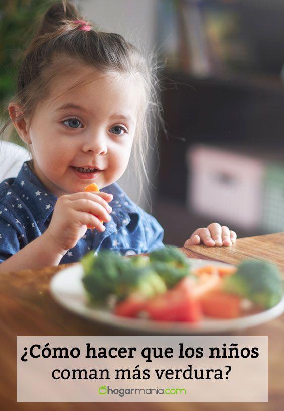 Como Hacer Que Los Ninos Coman Mas Verdura Alimentacioninfantil