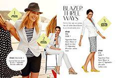 Versatile white blazer