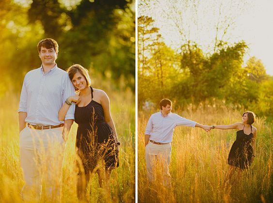 beautiful engagement shots: