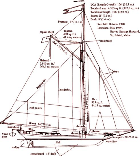 The sloop Clearwater was launched three years later on May 17, 1969 in South Bristol, Maine. In the years since, Clearwater has traveled to towns and cities along the Hudson, New York Harbor, and Long Island Sound.