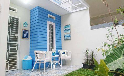 desain interior rumah warna biru - desain minimalis