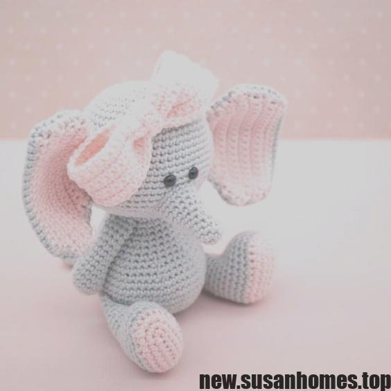 Resultado de imagen para elefante de crochet (mit Bildern ... | 564x564