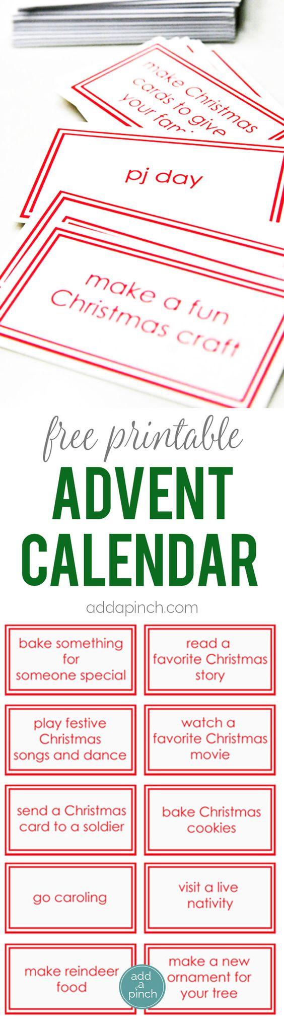 Online Advent Calendars | ThriftyFun