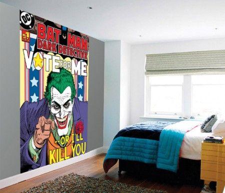 Batman Czarny Detektyw - Joker - fototapeta - 158x232 cm  Gdzie kupić? www.eplakaty.pl