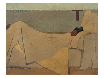 'Au Lit' by Edouard Vuillard