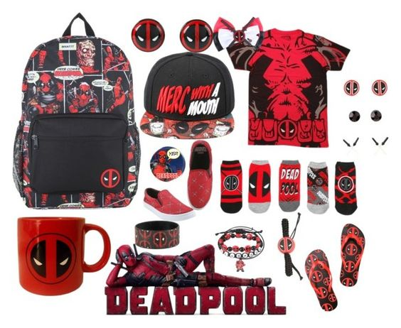 """""""Deadpool"""" by crusherofmars on Polyvore featuring Marvel Comics and Marvel"""