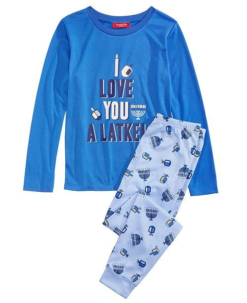 Unique Baby Womens Hanukkah Mommy and Me Matching Star of David Leggings Blue