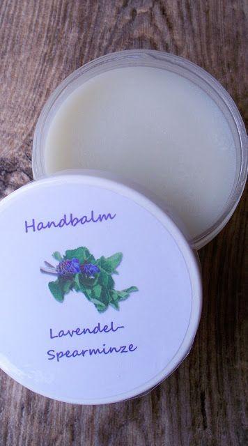 Seifenliebe...rostet nicht ♥: Handbalm für trockene & beanspruchte Hände & Rezept