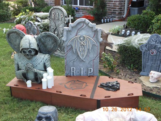 Cemetery props