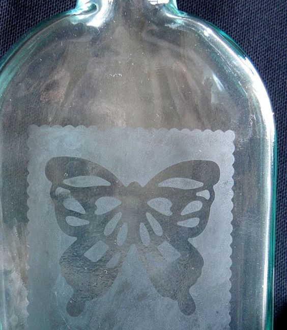 Doda's Creative Wanderings: Glass Etching with Tonic Studios Dies