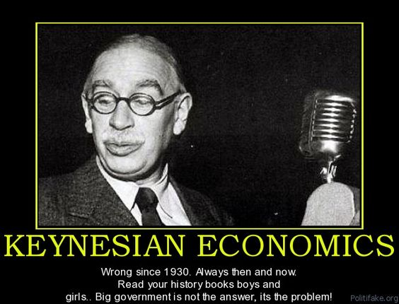 Image result for Keynesian economist are blind