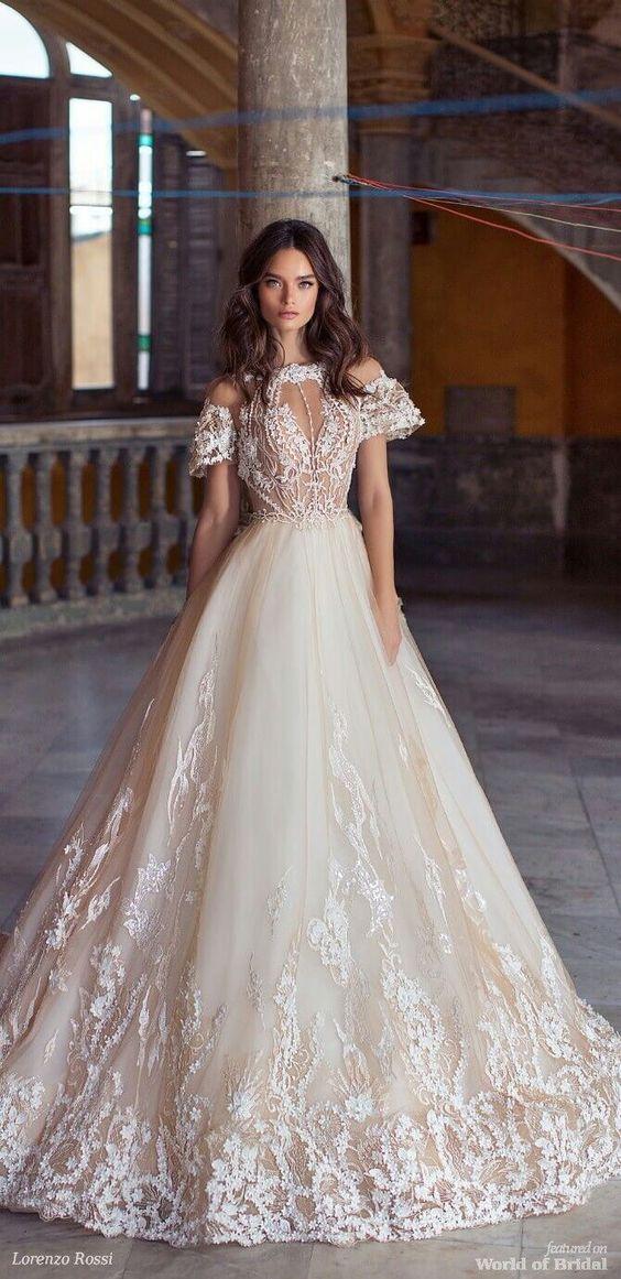 Gorgeous wedding ball gown
