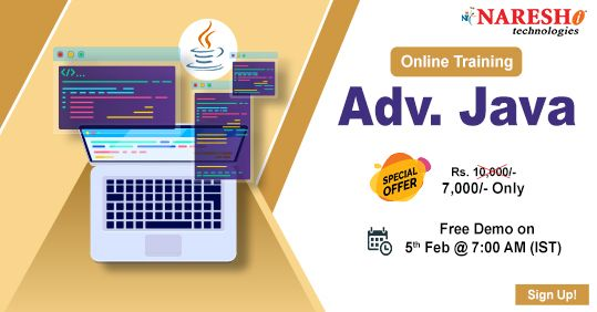 Advanced Java Online Training Demo On 5th Feb 7 00 Am Ist Online Training How To Memorize Things Interview Preparation