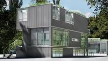 """Factory-built homes that make sense - Vancouver - """"1,800-square-foot three-bedroom house ...two-bedroom garden suite that is 800 square feet, and a two-bedroom laneway house that is 500 square feet...with rooftop gardens, solar panels, net-zero energy use, radiant heat """" An Alaska nonprofit has ordered 100 of the prebuilt modular homes""""to be built with federal funding for low-income households, including seniors, single-parent families, the disabled, and homeless veterans."""""""