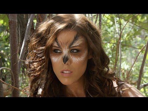 Halloween Owl Makeup Tutorial