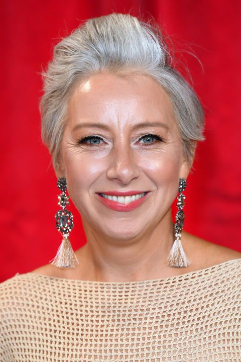 30 Celebrities Who Ve Made Going Gray Look So Chic Grey Hair Celebrities Prevent Grey Hair Silver Grey Hair