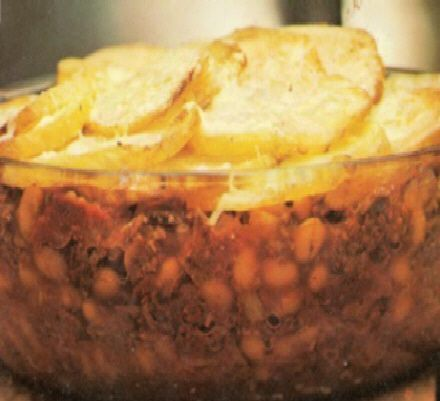 A quick and easy to make hotpot type dish made with minced beef.