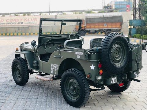 Old Modal Willyz Look Jeep Modified By Friends Motor Moga Price