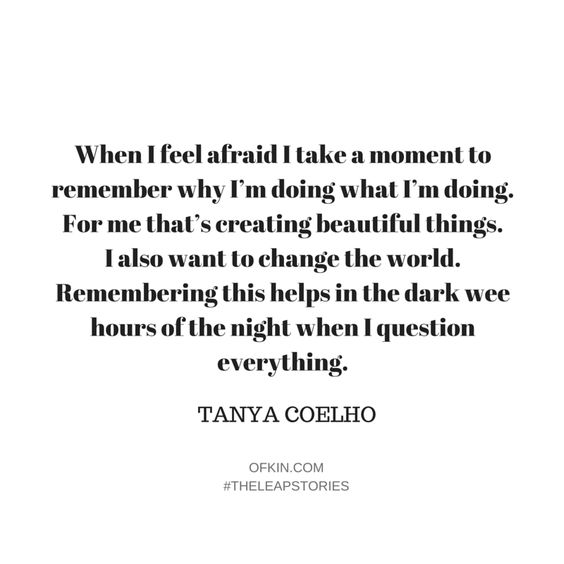 The Leap Stories #24: Tanya Coelho - Zefyr Jewellery, sustainable jewellery. OF KIN, stories of entrepreneurship, startups, courage, freedom, flexibility, work life balance.