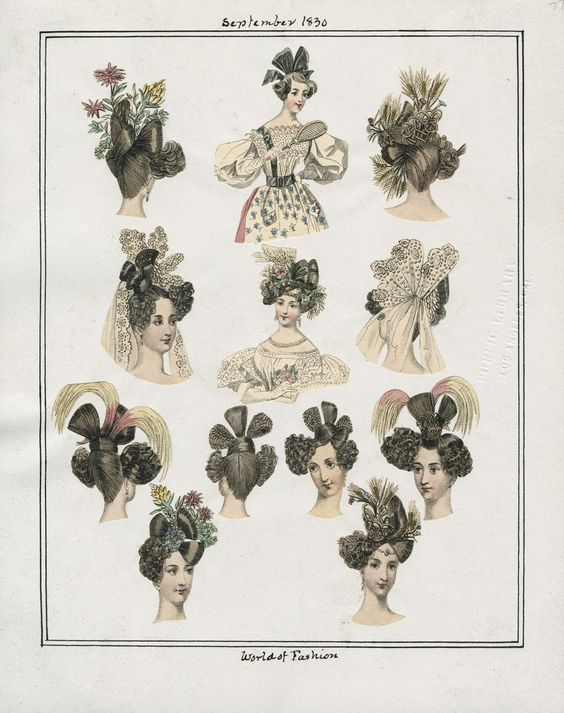Sept. 1830. Casey Fashion Plates. Los Angeles Public Library