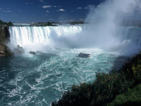 Niagara Falls, Canada One of the most amazing sights I've ever seen!