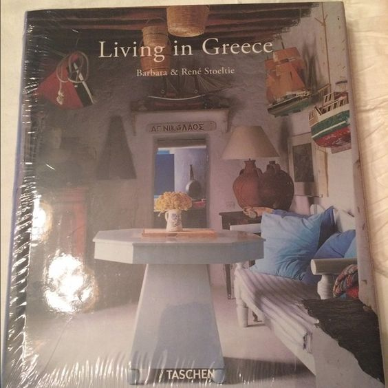 Living in Greece Book Brand New wrapped hard cover book. Great gift just never opened it bc I have an over abundance of coffee table books. Other