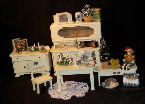 kuchenmobel und zubehor : Hallo liebe Puppenstuben und Teddyfreunde! gebraucht ***guter Zustand ...