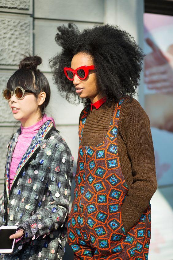 Susie Lau and Julia Sarr-Jamois - HarpersBAZAAR.com