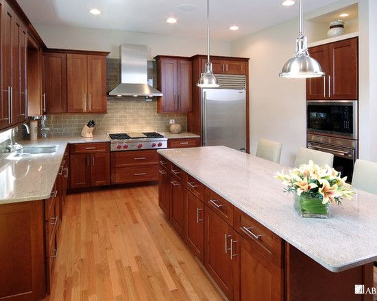 Spaces Cherry Cabinets Design, Pictures, Remodel, Decor and Ideas - page 12