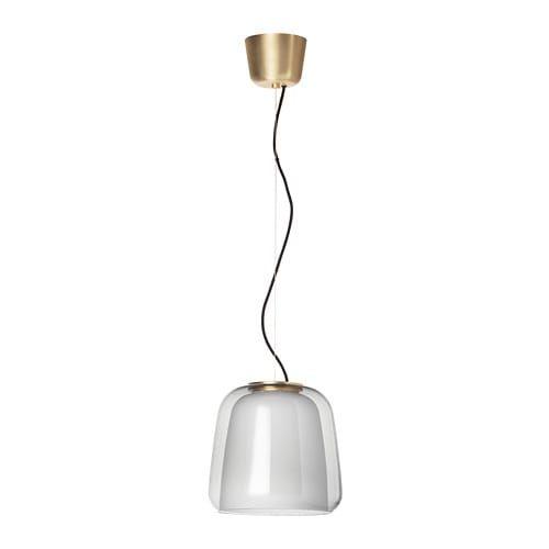Evedal Lampada A Sospensione Grigio Ikea It Pendant Lamp Lamp Clear Light Bulbs