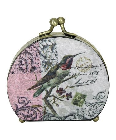 Another great find on #zulily! Pink Hummingbird Compact Mirror by Passion for Fashion #zulilyfinds