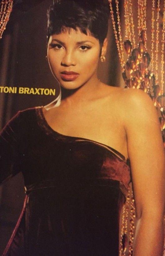 Toni Braxton 1990s Toni Braxton Hair Styles Celebrities