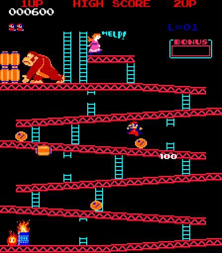 DONKEY KONG for Atari 2600