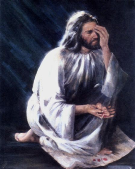 Jesus Picture Crying Over Aborted Baby Abortion Is Sin: