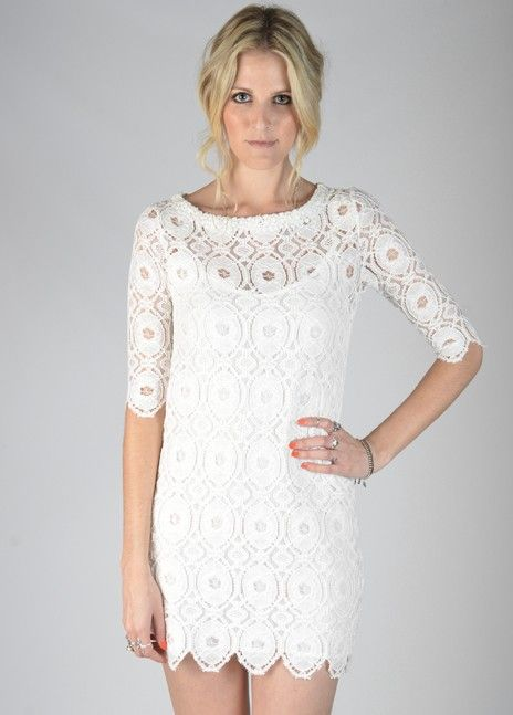 Sam & Lavi Scarlett Lace Dress