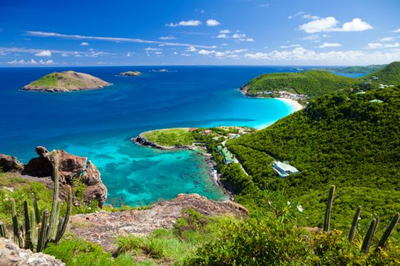 St. Barthélemy is definitely my top pick for luxury and romance! Definitely the most romantic island I've ever been to. A must in my opinion!