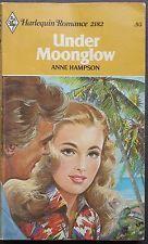 Vintage Harlequin Romance, 2182, Under Moonglow, Anne Hampson