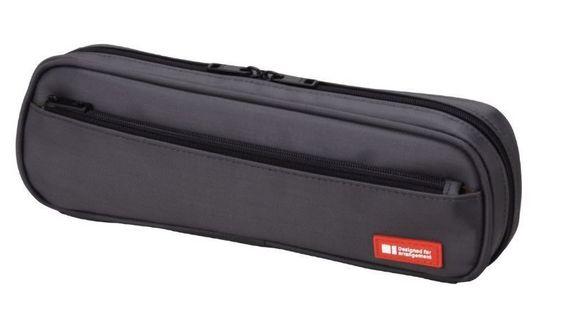 New Lihit Lab Teffa Pen Case Black A7552-24 2way type Japan