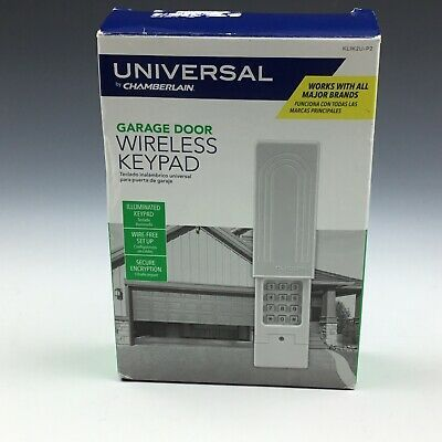 Chamberlain Klik2u P2 Universal Wireless Garage Door Keypad