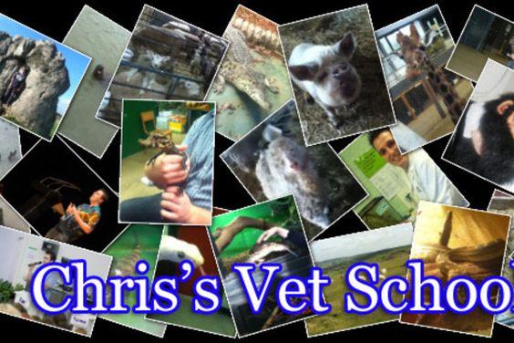 Help get Chris to Vet School!