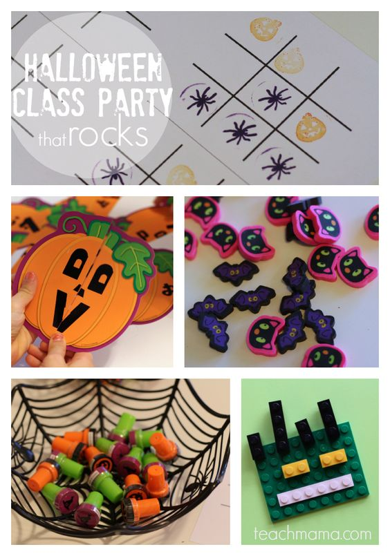 halloween party story games