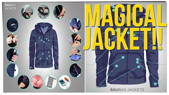 Everybody Is Freaking Out Over A Magical Jacket Full Of Pockets! Ft. Dav...