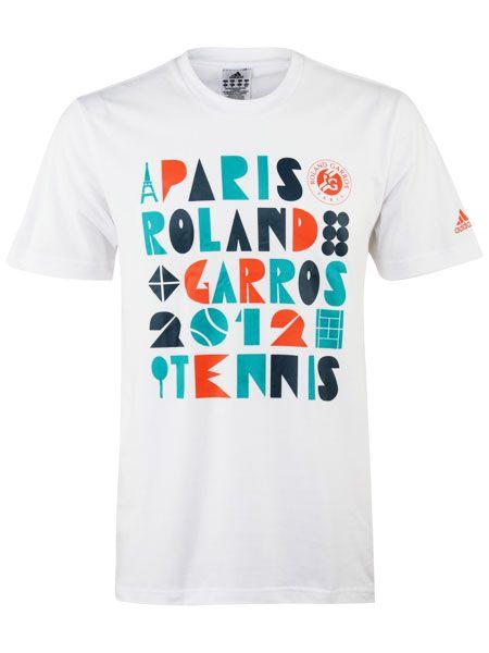 tennis adidas 2012 t-shirt