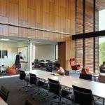 Charles E. Shain Library, Connecticut College, New London. ALA/IIDA 2016 Library Interior Design Award winner.